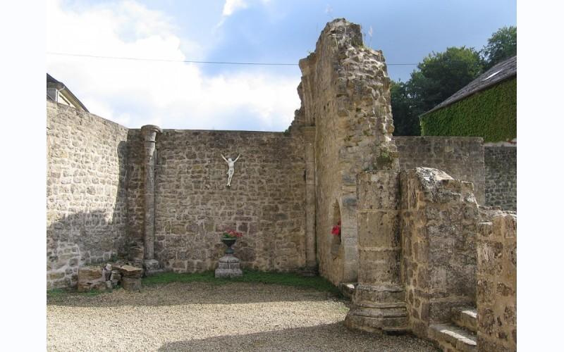 Middeleeuwse en historische site van Clairefontaine