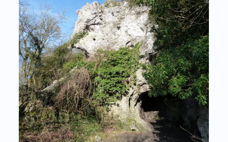 De grot van de mens van Spy