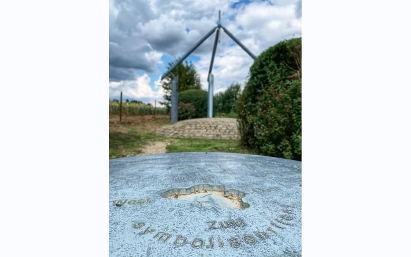 monument voor het echte midden van België