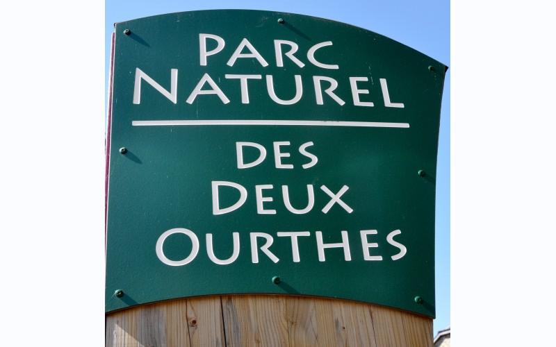 Het natuurpark van de twee Ourthes