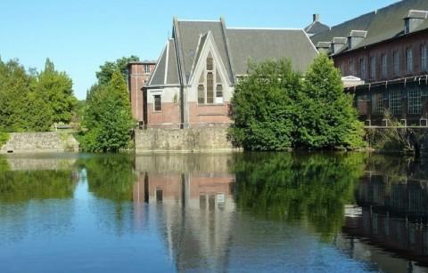 De molen van de abdij van Bonne Espérance