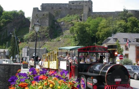 Het toeristische treintje van Bouillon