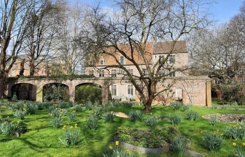 Tuin van het Erasmushuis