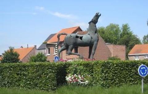 Het staande paard