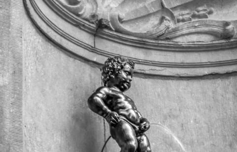 Manneken Pis van Brussel
