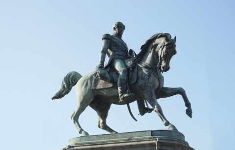 Ruiterstandbeeld Koning Leopold I