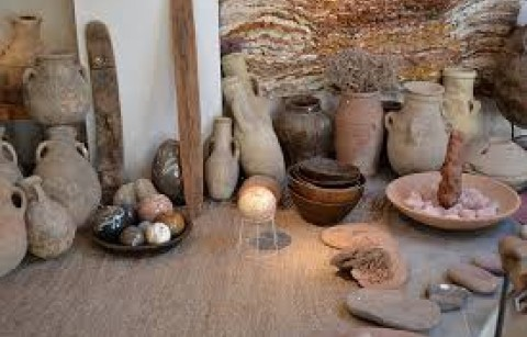 Sahara art stones