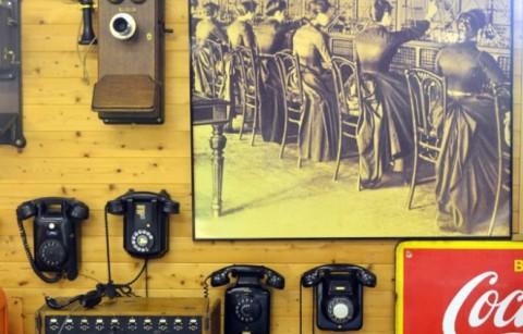 Telefoon museum van Petitvoir